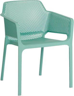 #Unisex #Kunststoff #Gartenstuhl #Ella #stapelbar #mint Ob für den privaten Wohnbereich oder für den Gastronomiebereich – mit diesem Gartenstuhl ´´Ella´´ liegen Sie immer richtig: er vereint zeitlose Eleganz mit hohem Sitzkomfort. Die bequeme Sitzschale ist körpergerecht geformt während Sitzfläche und Rückenlehne mit einem atmungsaktiven Gittermuster überzeugen. Da er mit anderen Stühlen stapelbar ist, handelt es sich um einen sehr platzsparenden Gegenstand. Der Stuhl besteht aus einem…