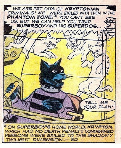 The LOL Cats of the Phantom Zone.