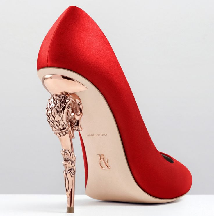 Ralph and Russo  Baroque pump