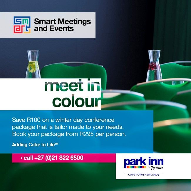 Park Inn by Radisson Cape Town Newlands – Winter Day Conference Offer