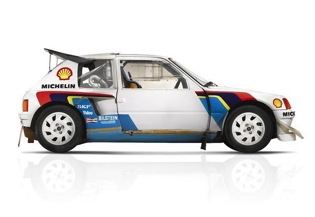 Peugeot 205 T16 Group B Rallye Car