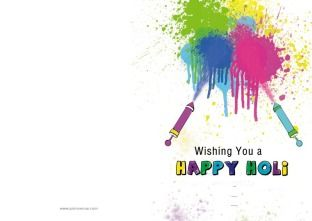 Choose your Holi Greeting Cards design