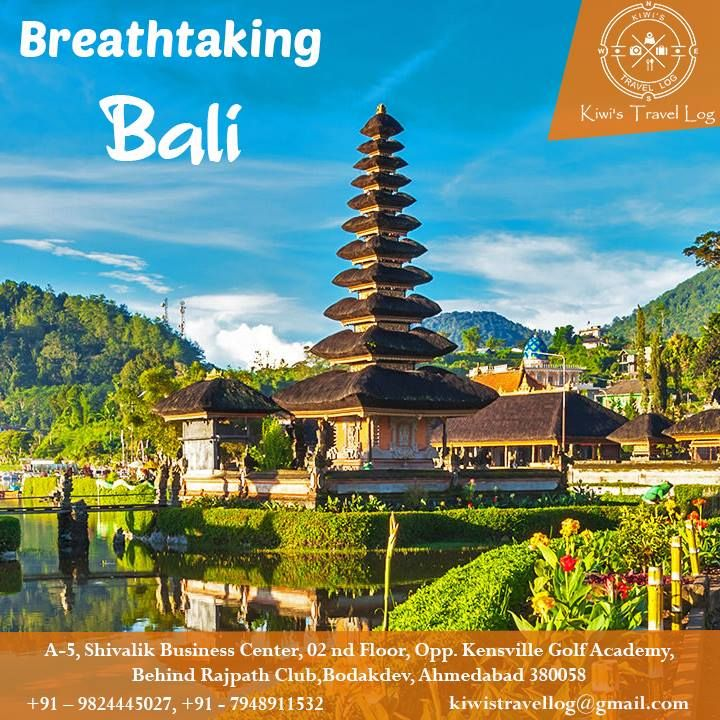 Discover the Breathtaking Beauty of #Bali with #Holiday #Packages from Kiwis Travel Log. Call us today for the Best Accommodation Deals and Cheap #Tours. #travel #tour #offer