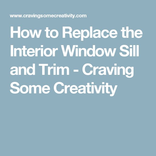25 Best Window Sill Trim Ideas On Pinterest Window Sill Window Moulding And Diy Interior
