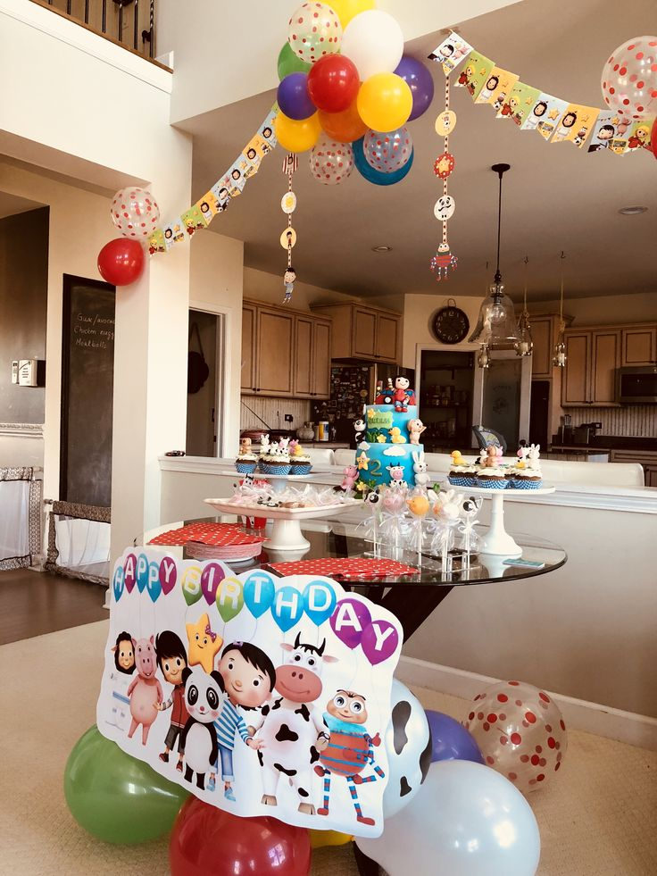 Lbb Cake Table Set Up Little Baby Bum Birthday Party