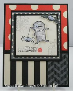stampin up halloween cards - Google Search