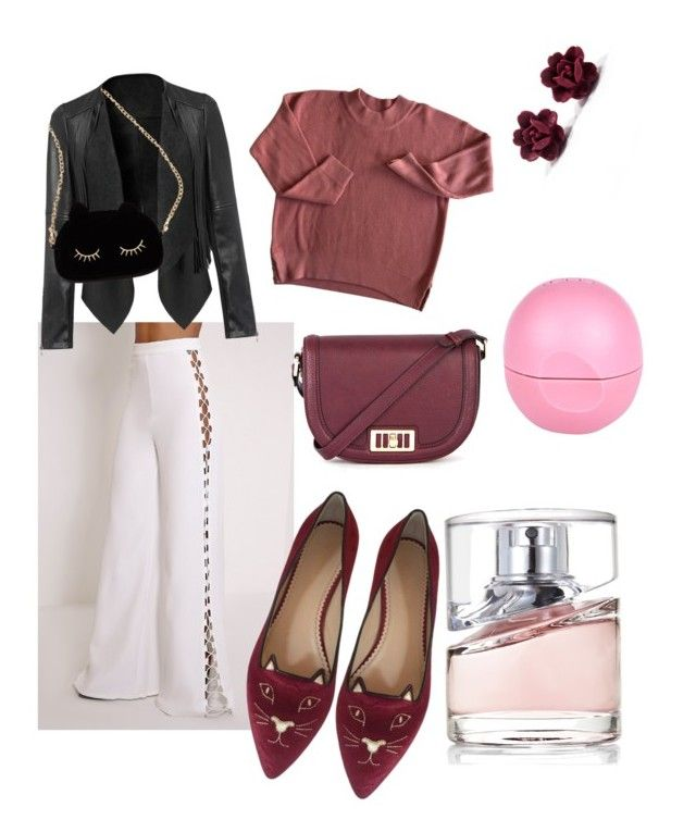 """""""Spring 2016 style"""" by astrika on Polyvore featuring Warehouse, Charlotte Olympia, WithChic, BOSS Hugo Boss and River Island"""