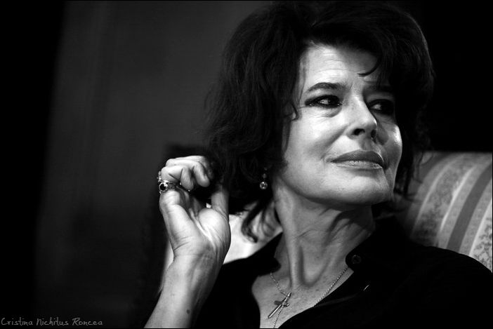http://nichitus.ro © Cristina Nichitus Roncea. The french actress, Fanny Ardant.