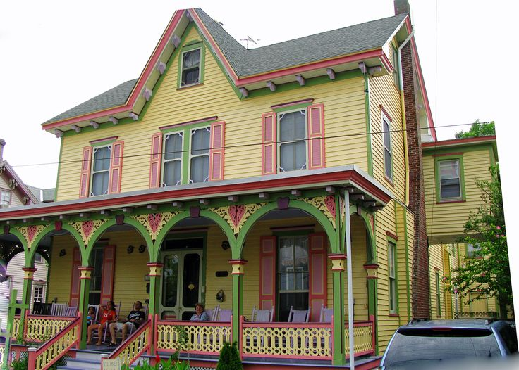 Another Victorian house in Cape May, New Jersey.