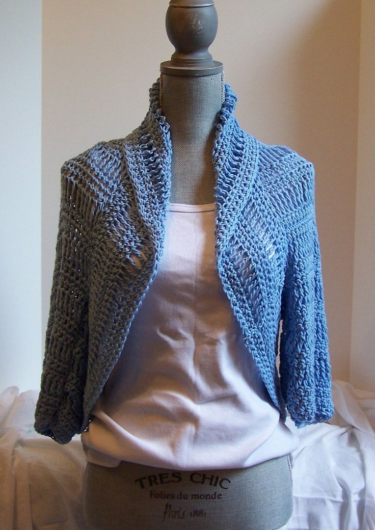 Bella Shrug By Kristina Olson - Free Crochet Pattern - (ravelry) Moss ༺✿ƬⱤღ https://www.pinterest.com/teretegui/✿༻