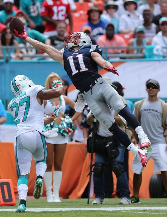 Julian Edelman is Amazing really the only one we can count on this season.