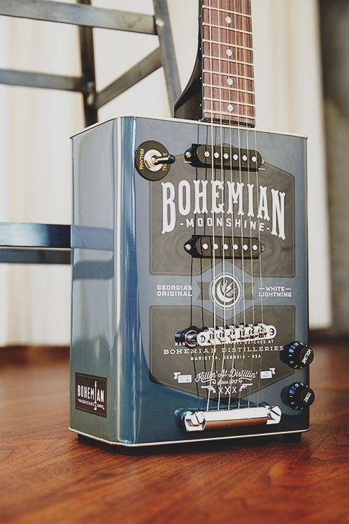boho moonshine from bohemian guitar   music + musical instruments