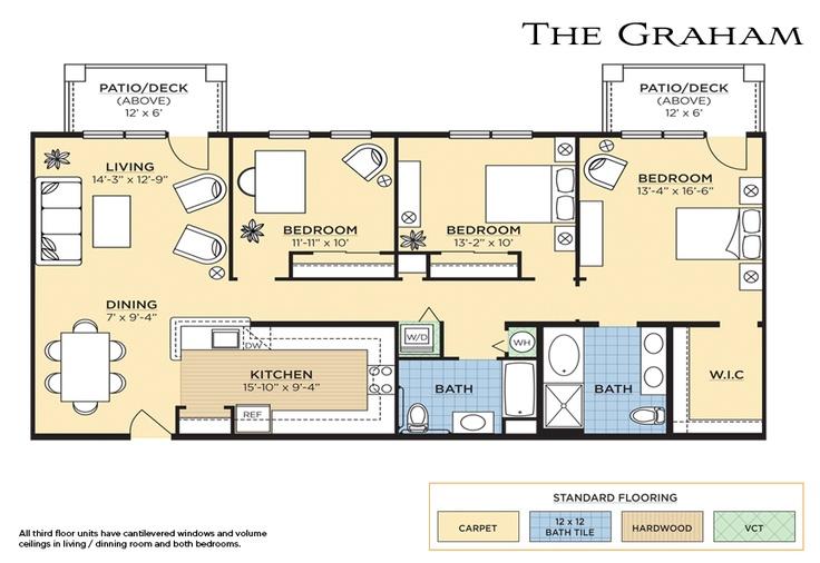 The Graham Floorplan