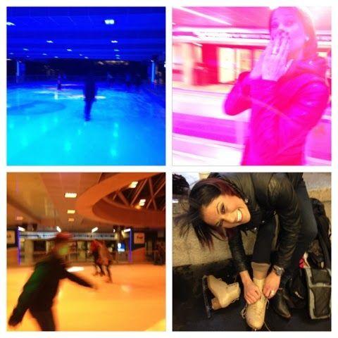 Christine Turpin Skating Robson Vancouver