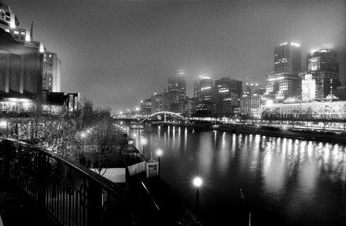 Matt Irwin, Melbourne by night.