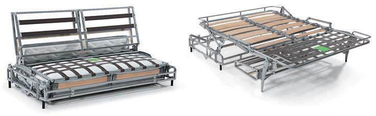 Modello 710 711 - Piano dormita in acciaio a maglia elettrosaldata. Styling Matera Altamura Bari Seregno