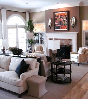 17 best ideas about living room setup on pinterest for Large living room layout ideas