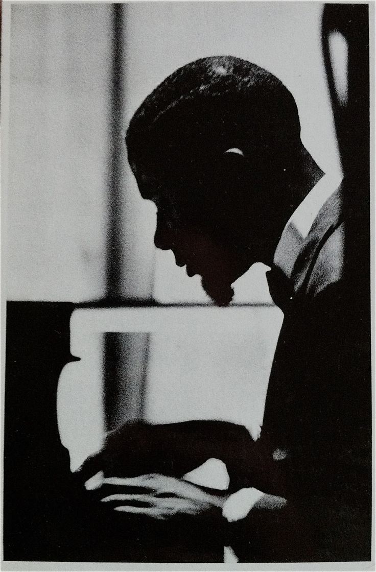 Bobby Timmons, an African American jazz pianist and composer with a distinctive gospel soul-jazz style (c 1960)
