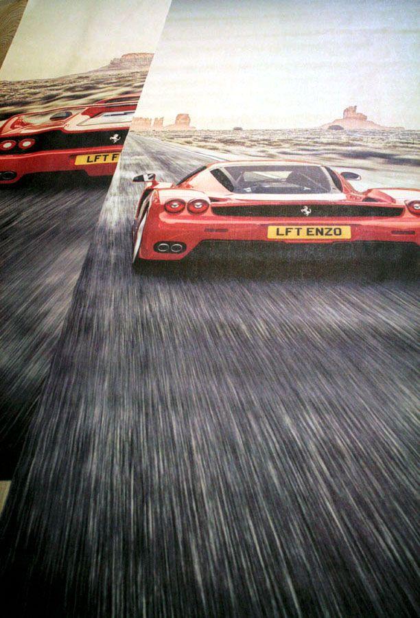 Фотообои Ferrari Enzo & F50
