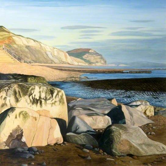 Charmouth, Dorset by Tracey Chambers Date painted: 2008