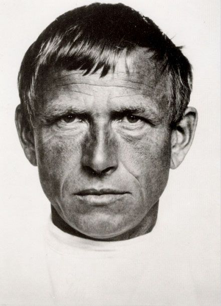 Otto Dix, 1933 -by Hugo Erfurth