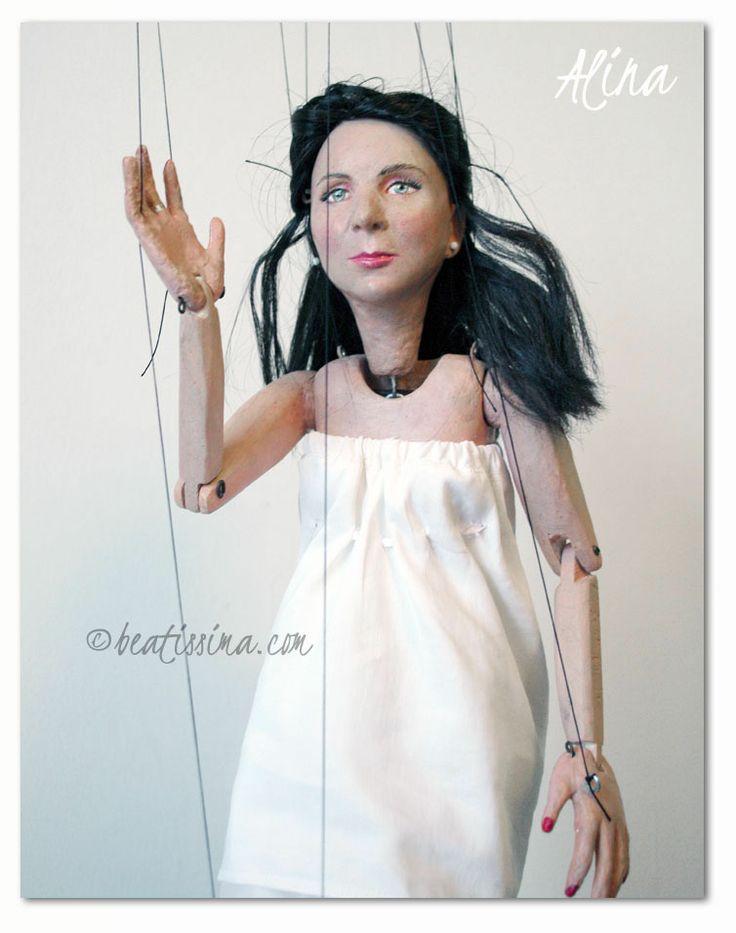 Dreamdoll.pl - Alina - portrait doll, puppet. Lalka portretowa, Alinka.