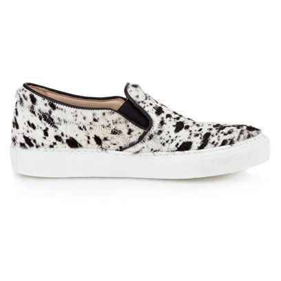 Whistles Monochrome Slip On Trainers | Shoes | Accessories | Fashion | Red Online