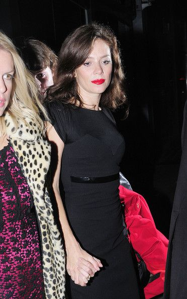 Anna Friel Photos - Anna Friel Arrives at the Groucho Club - Zimbio