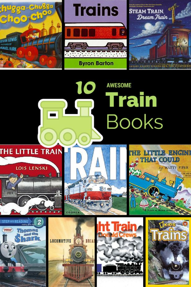 Awesome Train Books, if you have toddlers and preschoolers who love trains then check out the list from Mommy University at www.MommyUniversityNJ.com