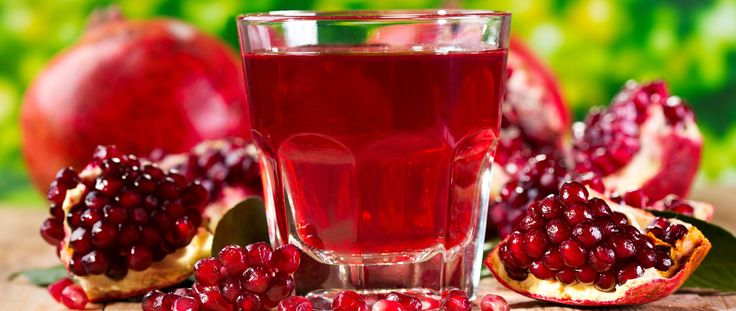Pomegranates juice contains vitamins from the groups B, PP, C, sugar (glucose and fructose), citric acid and pantothenic, tannic, folacin,…