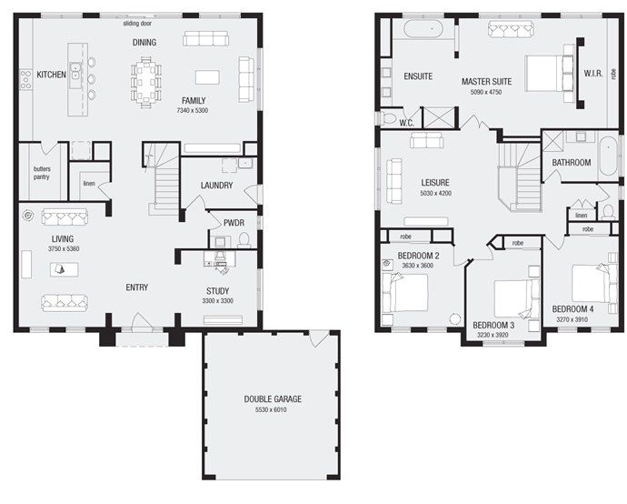 Newhaven 36 new home floor plans interactive house plans for Apartment floor plans melbourne