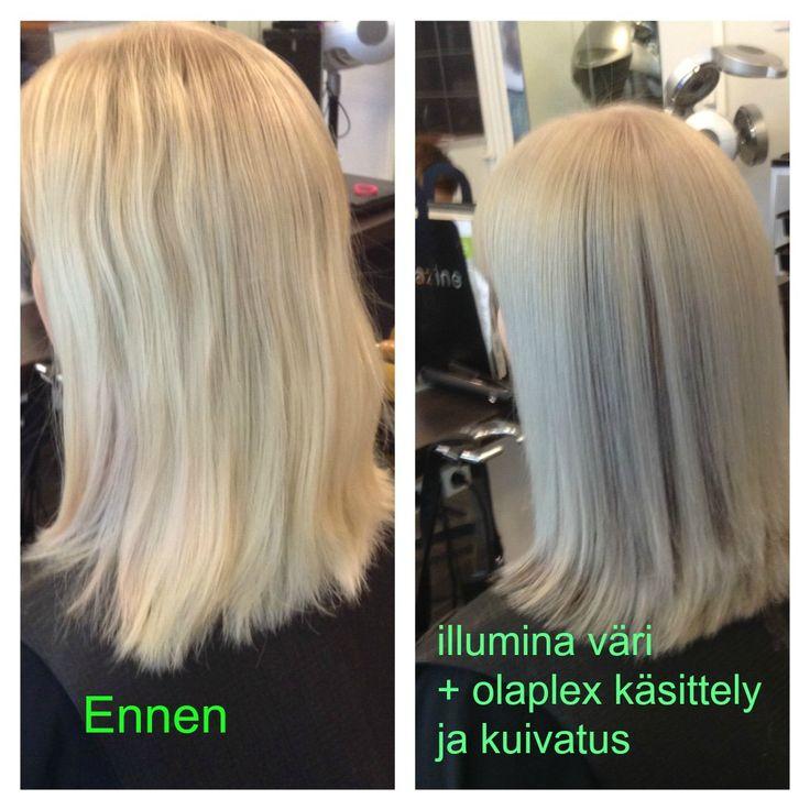 #olaplex #illumina #blondhair #longhair #longbob made By Sirpa Polvi