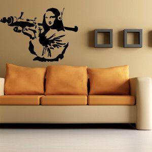 Adesivi murali, WallStickers-Tribute-Banksy-MonaLisa_gallery