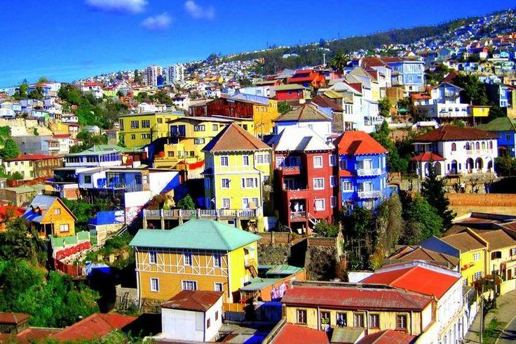 Valparaíso una ciudad de colores ¿o no?