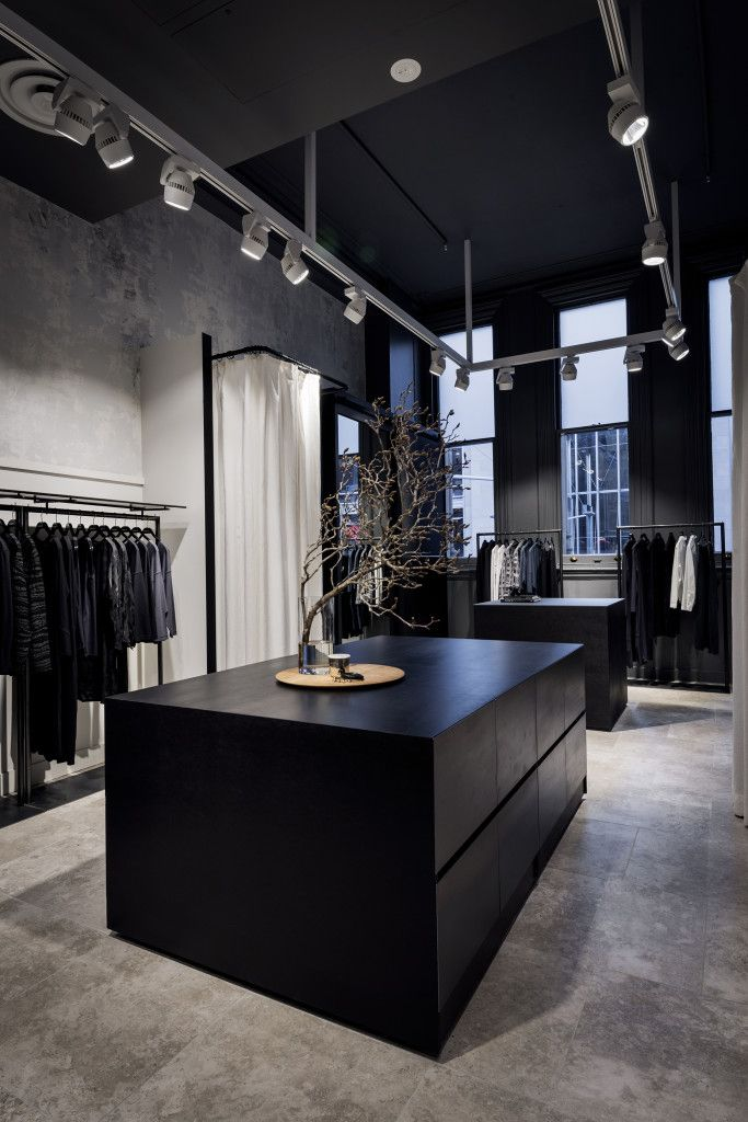 OSKA's dark and moody interior by Ink Interiors | Australian Design Review | Photo by Michael Wee  #Interior #Retail #Fitout #Architecture #Design #Shop