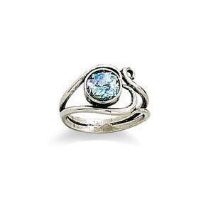 Ancient Roman Glass Ring with Heart Design Sterling Silver Roman Glass Company. $61.20. Includes Certificate of Authenticity. 2000-year-old Roman Glass from the Holy Land. Handcrafted in Israel