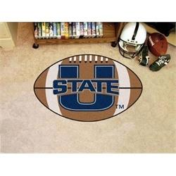 Utah State University UTU Football Floor Rug Mat