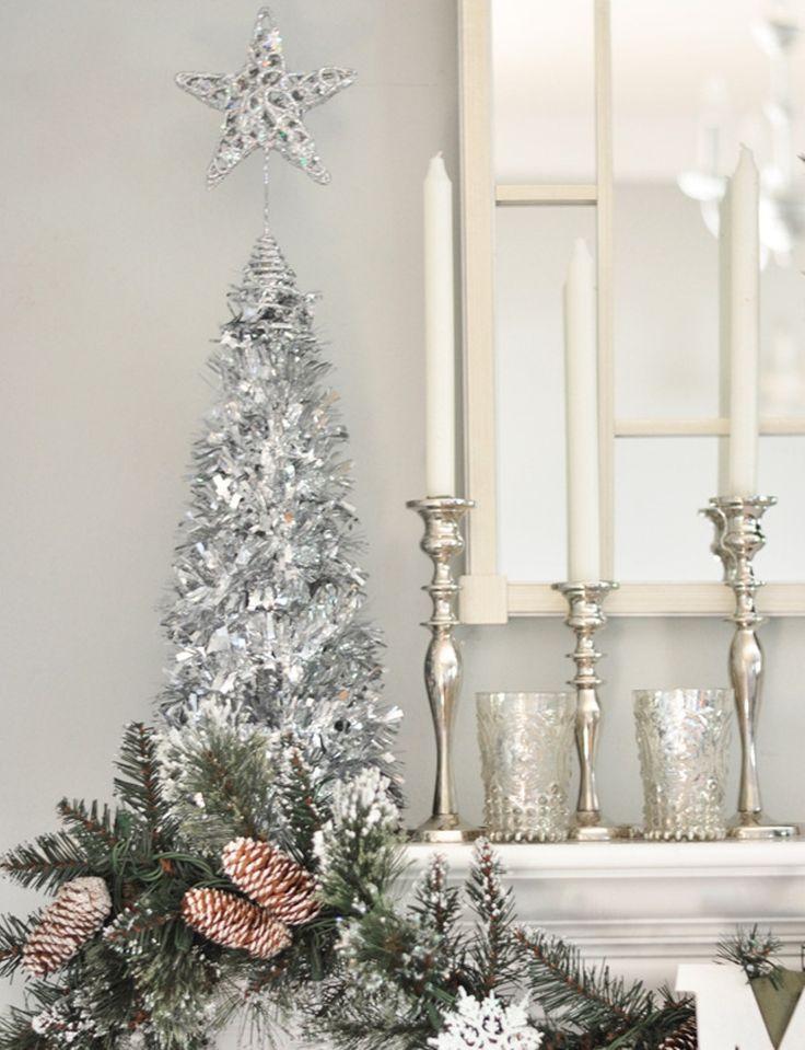 875 Best Christmas Mantels Images On Pinterest Christmas