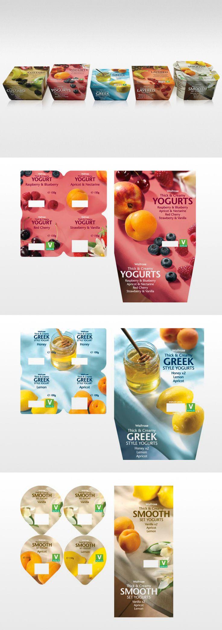waitrose yogurts