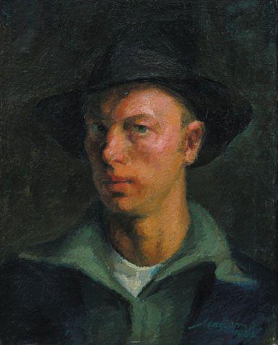 Nagy Imre: Önarckép palettával