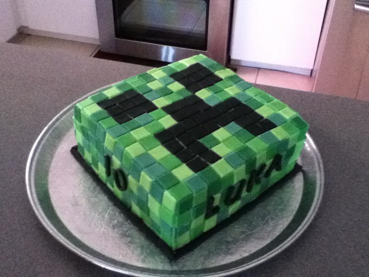 Luka's mindcraft cake