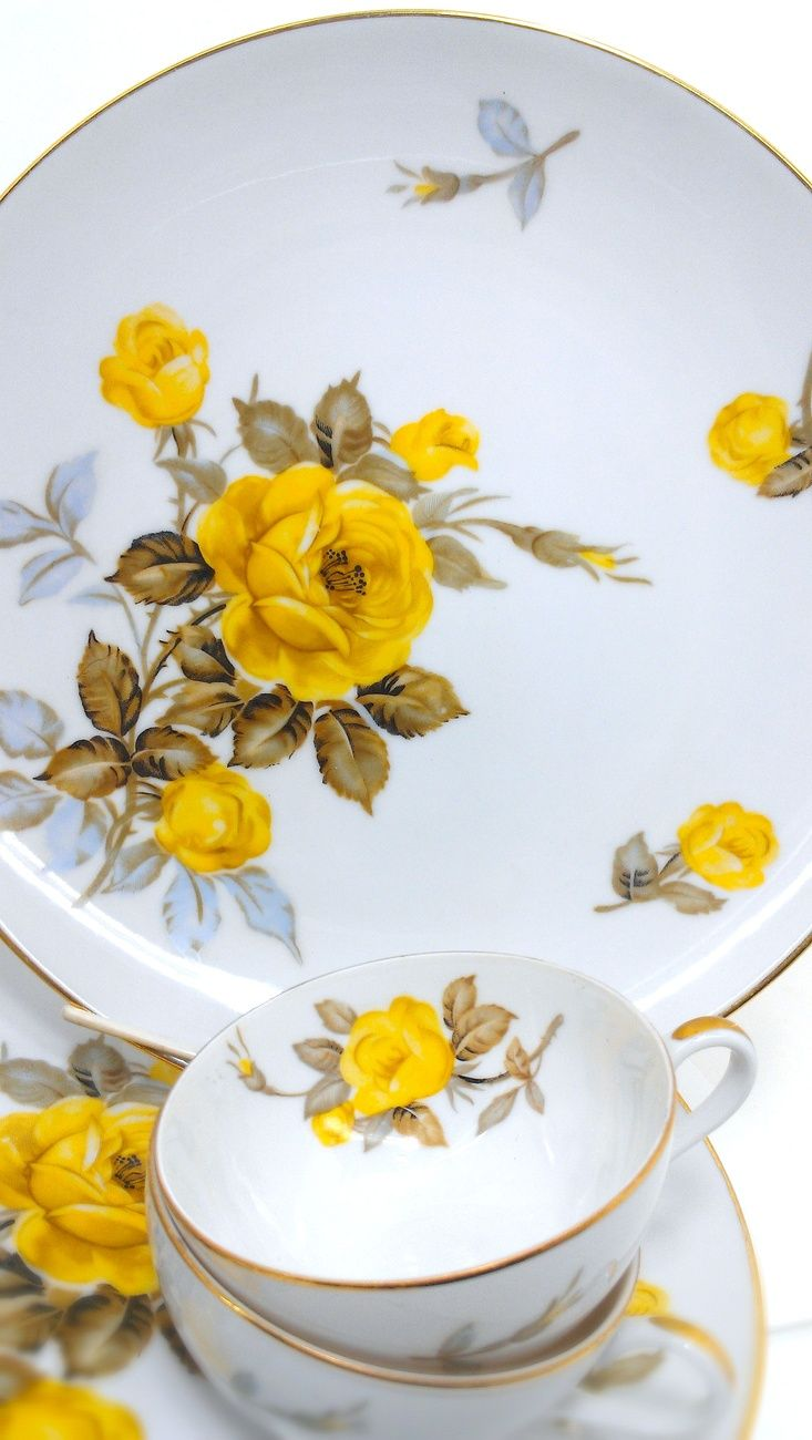 Cotillion by Sango dinnerware, vintage China. Have this set. So gorgeous!