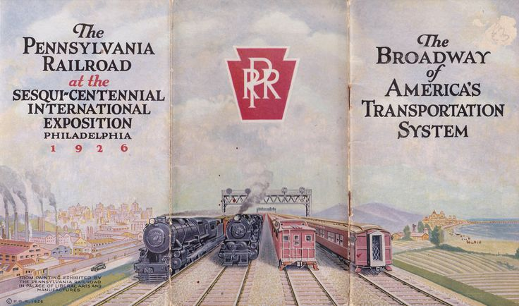 "Alle Größen | ""The Broadway of America's Transportation System"" - brochure by the Pennsylvania Railroad for the 1926 Philadelphia Exposition 