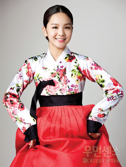 Korean, hanbok,국악의신동-송소희, CF rose to stardom as one 17-year-old prodigy songsohui Music of Dreams. M Lounge Mobile - Woman Sense