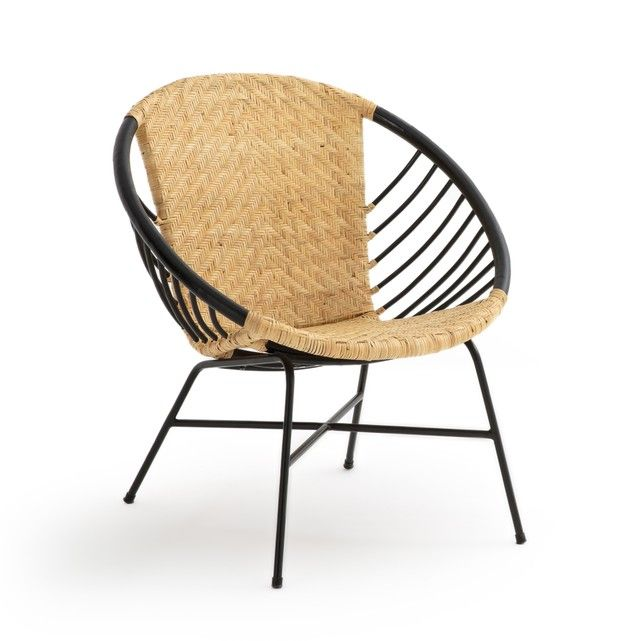 Nihove Round Rattan Chair Chair Rattan Metal Chairs