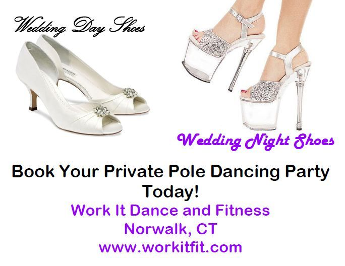 What Shoes Will You Be Wearing On Your Wedding Night Take Pole Dancing Classes At