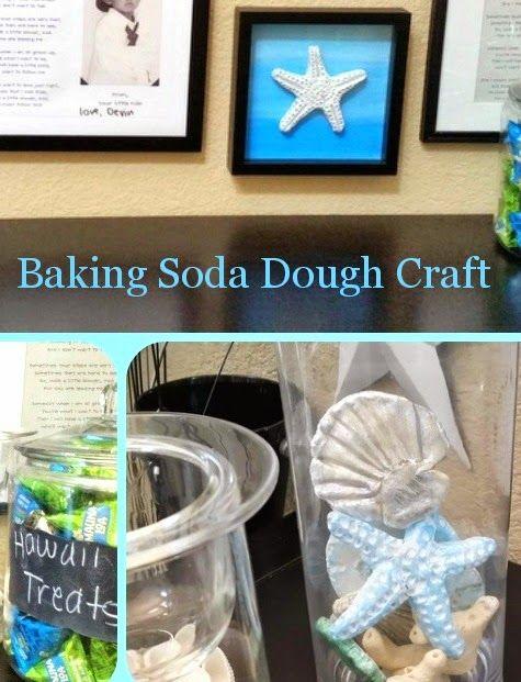 Coastal Sea Life Baking Soda Dough Crafts -Better than Salt Dough