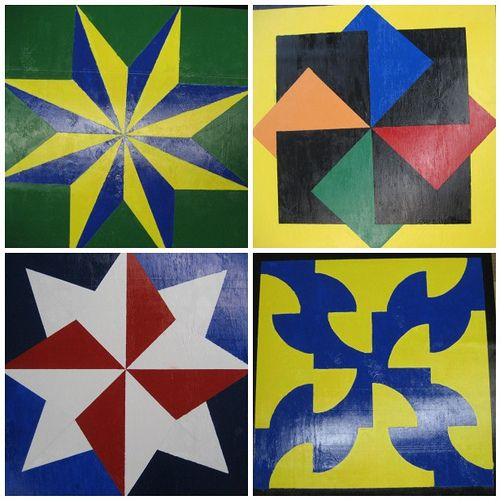 How to Paint a Barn Quilt via www.wikiHow.com