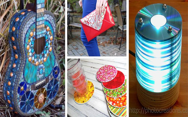 20+ Brilliant DIY Ideas How to Recycle Your Old CDs – The ART in LIFE