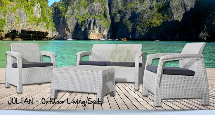 JULIAN Living Set – Synthetic Outdoor Furniture